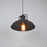 Pendant-Light-MG-1004 Vintage Lighting Retro iron shade single-head Industrial pendant lamp/ chandelier/droplight made in China