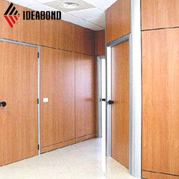 Wooden Texture Acp Aluminium Plastic Composite Board