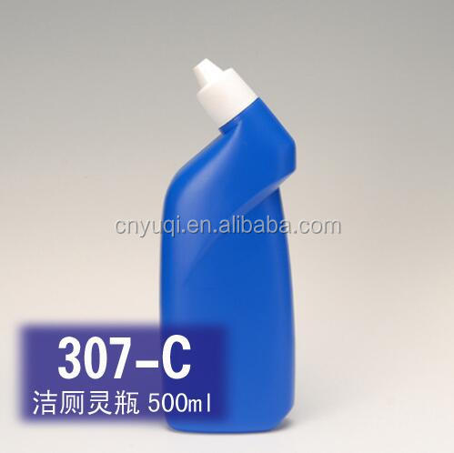 500ml Toilet Cleaner Bottle/toilet cleaner plastic bottle