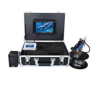 20M Cable 7 Inch Underwater Video Fishing Review Inspection Camera Kit Deep Sea Fish Finder Camera