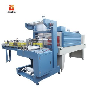 High quality sleeve film bottle wrapping shrinking machine for water production line