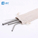 Customized Stainless Steel Metal Straw Set with Brush For Tumblers Rumblers Cold Beverage