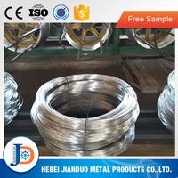 Q195 11 gauge galvanized steel wire in 25kg 50kg coil