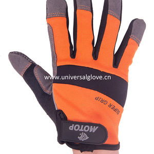 Microfiber And Foam Padding Magnetic Finger Tool Mechanic's Finger Glove Magnetic Magnet Glove Softtextile Working Glove