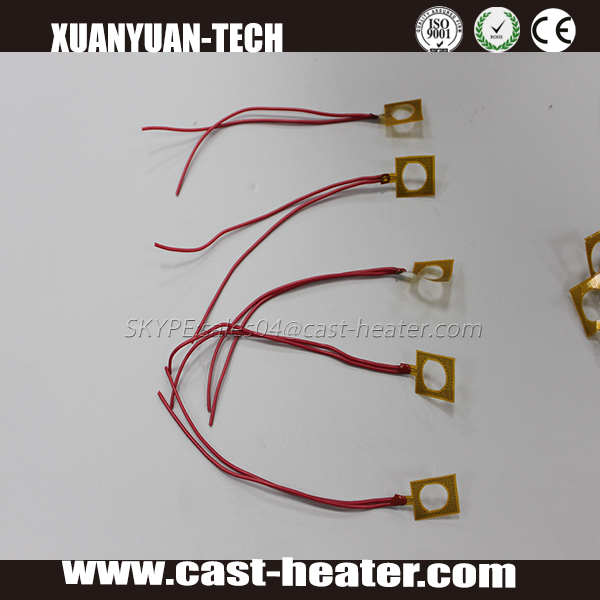 lightweight kapton polyimide thick PI film heating element