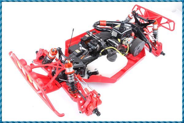 New Style Nylon 1 5 Scale Rc Car 29cc 4 Bolt Engine With Walbor