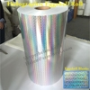 Minrui Supply 3D Unique Hologram Eggshell Sticker Rolls Customized with Size,Holographic Destructible Vinyl Egg Shell Materials