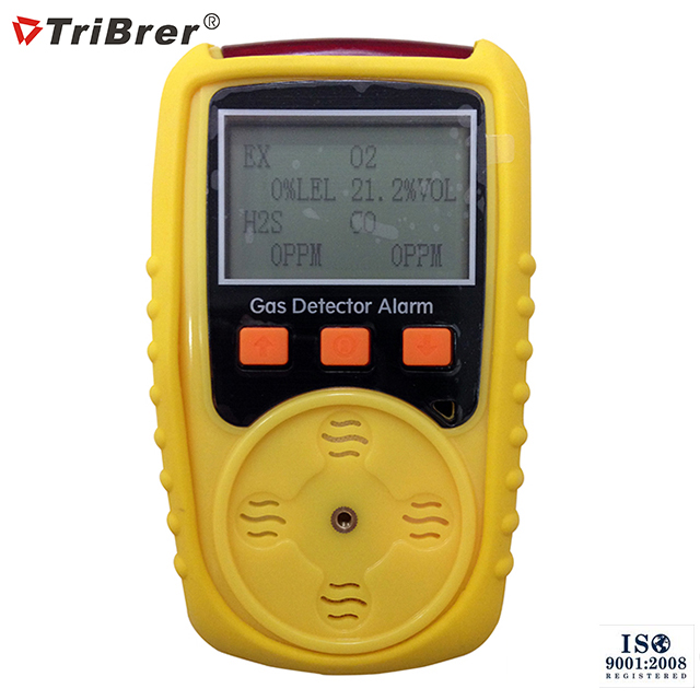 Handheld Gas Detection Device Tribrer Brand Gas Tester
