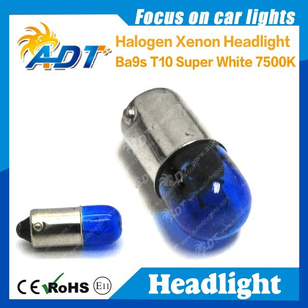 car halogen bulbs ba9s 7500K