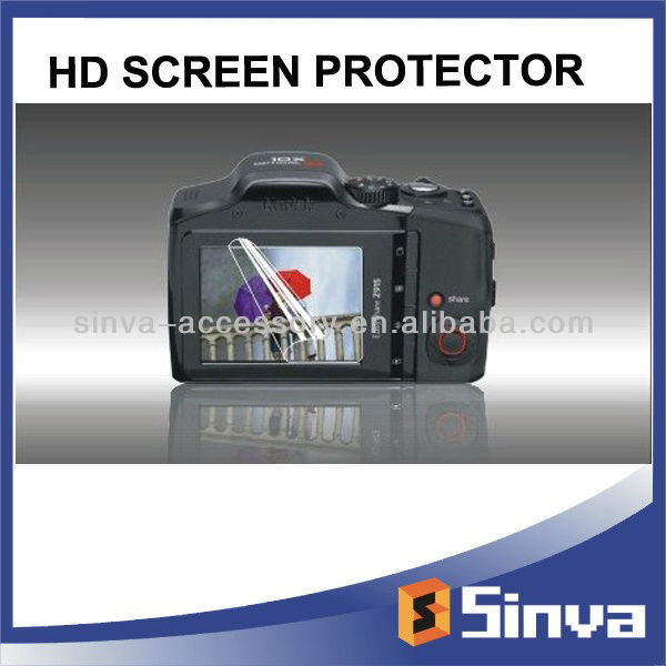 Super easy pasted clear Digital Camera Screen Protector For Nikon DSLR-D300