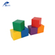 Plastic Toy Learning Resources Baby Kids Stacking Cubes Color Sorting Square Mahjong Game Shape Toys
