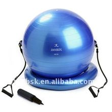 antiburst gym ball with tube