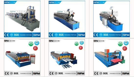 hydraulic automatic corrugated profile roof panel roll forming machine