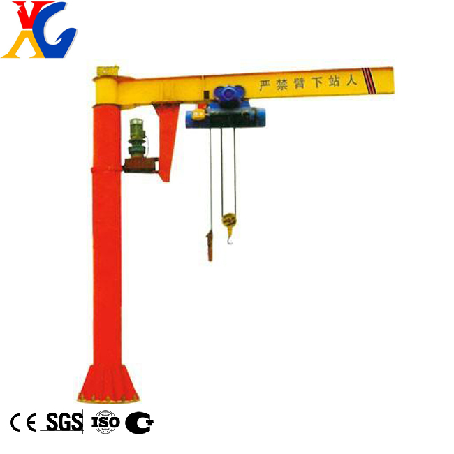 Manufacturer supply jib crane,BZD 0.5ton 500kg 0.25ton mini small portable traveling camara tower used truck jib crane for sale