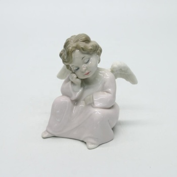 Baby girl sleeping angle tale fairy figurines