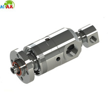 Custom high quality CNC mchining stainless steel Water rotary union for food industry applications