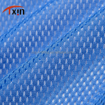 Manufacture polyester spider mesh fabric for cushion, breathale knitted garment fabric