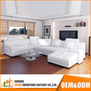 New Design U Shaped Sectional Sofa Luxury Furniture Living Room