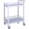 SKR001 CE Factory Low Price ABS Medical Emergency Trolley