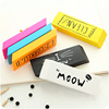 High quality novelty cute fancy rubber eraser with colorful printing