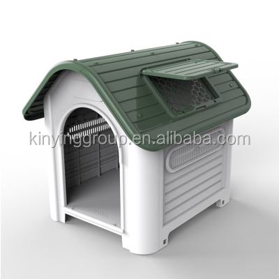 KINYING brand eco-friendly pet house outdoor plastic dog house