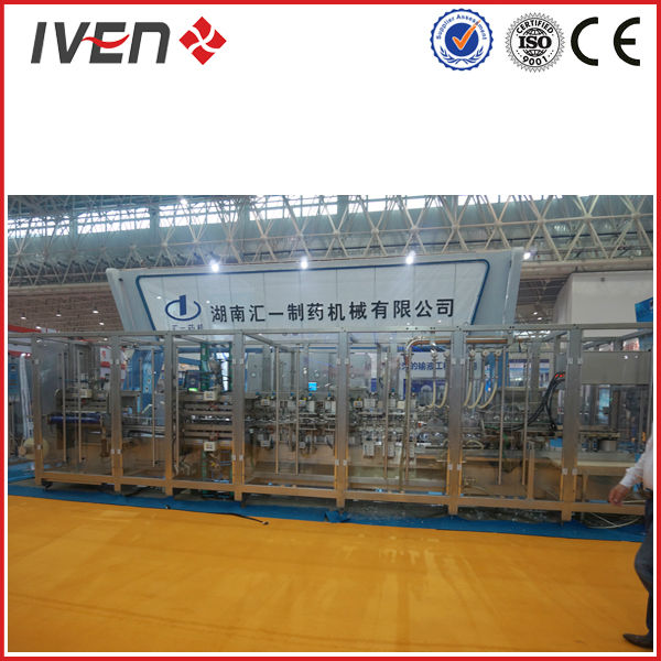 Normal Saline Plastic Bag IV Infusion Making Machine