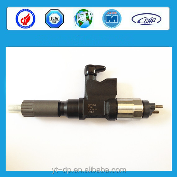 Densos Diesel Engine Parts Common Rail Injector 095000-8480 for Hino NO4C