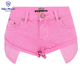 High Quality pink beach short jean women denim shorts tight jeans shorts