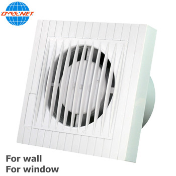 6 Inch Window Mounted Wall Mount Fresh Air Ventilation Fans Bathroom  Exhaust Fan