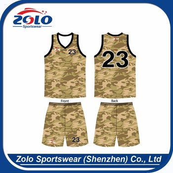 Approved manufacturer sportswear loose wholesale basketball sublimation clothing