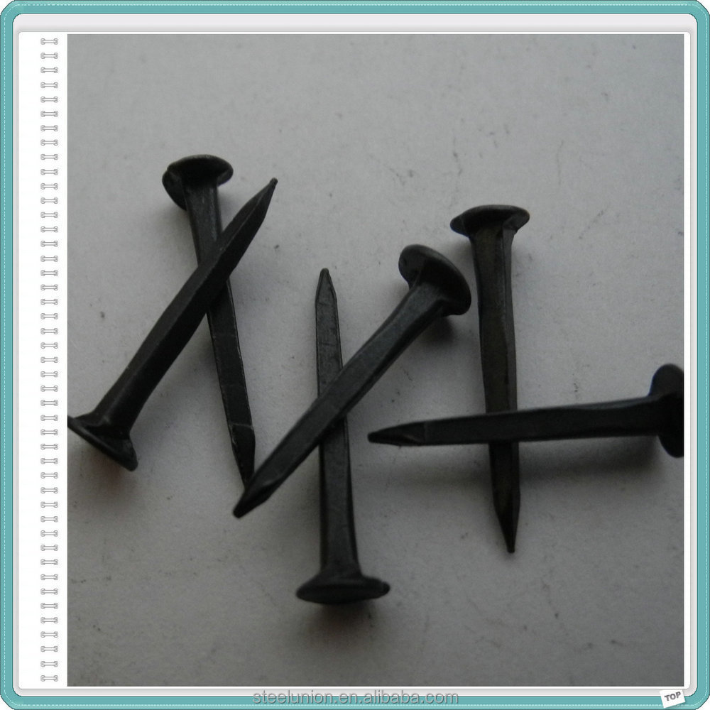 shoe tacks/shoe tack nails/dark blue shoe tack nails China Supplier