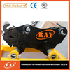 Construction equipments hydraulic cylinder quick hitch
