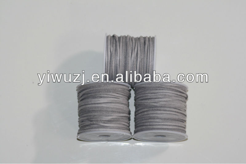 Velvet supply environmental flocking gray leather cord Korean clothes Velvet Cord
