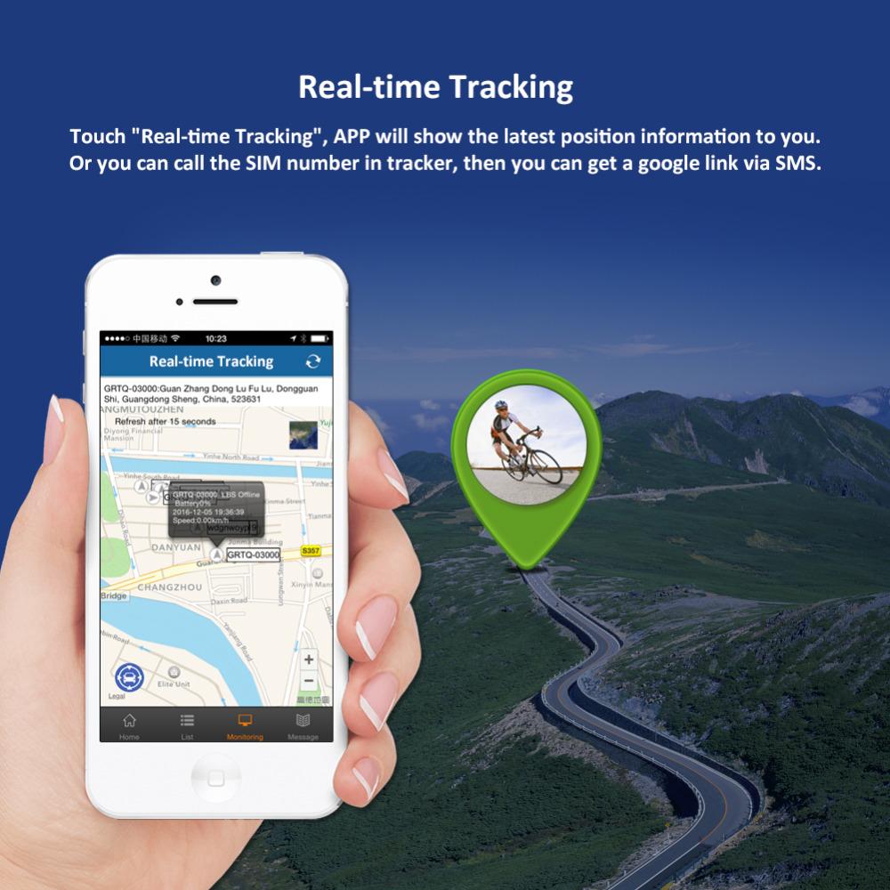 TK906 Bicycle 2 Wheels E-Bike Real-Time Tracking GPS Tracker
