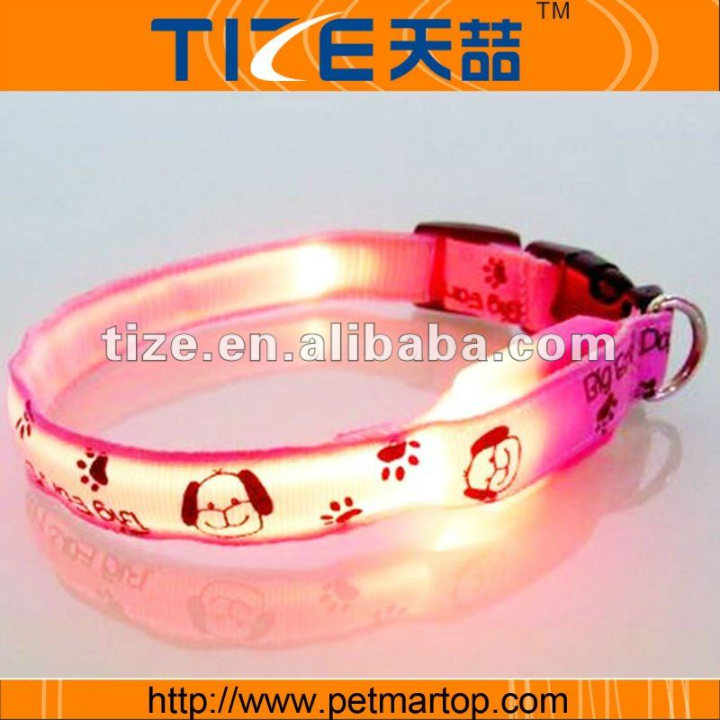The big ears dog series--LED Dog Collar TZ-PET3400P Flashing Dog Collar