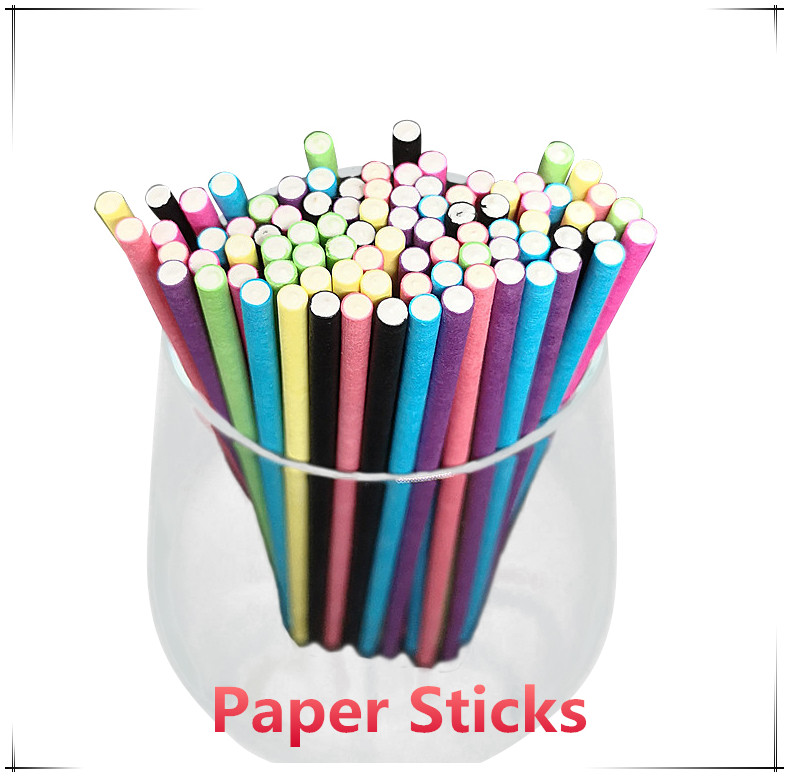 FDA Approved Customize 10*197MM White Paper Straws