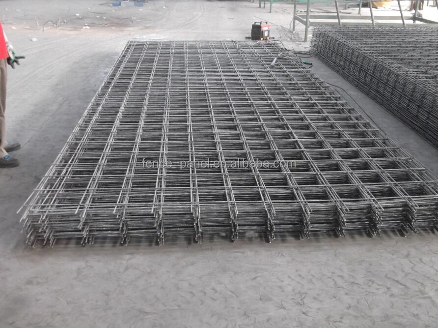 Concrete foundation reinforcement mesh cement reinforced