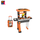 kids construction workshop plastic educational pretend play tool set toy