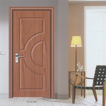 Pvc Wooden Interior Door Design Fs Q 010 Buy Pvc Bathroom Door