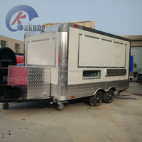 UKUNG FV-210 Food Catering Trailer/mobile Kitchen Truck For Sale/food Service Trailer