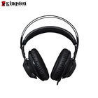 Kingston Gaming Headset with micro headset wired cloud 2 noise cancelling ear plugs Silver gaming headset Cloud