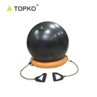 TOPKO Factory Supply Durable Anti Burst Private Label Fitness Yoga Ball