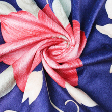 changshu 100% polyester tricot knitted textile fabric super soft velboa flower printed fleece fabric for Home Textile