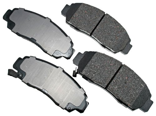 Akebono ACT787 ProACT Ultra-Premium Ceramic Brake Pad Set (Engineering #ACT564)