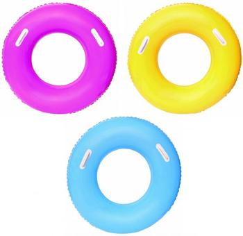 7e2bdeee458 베스트 웨이 36084 91 센치메터 수영 링 핸들 수영 튜브 청소년 풀 플로트 풍선