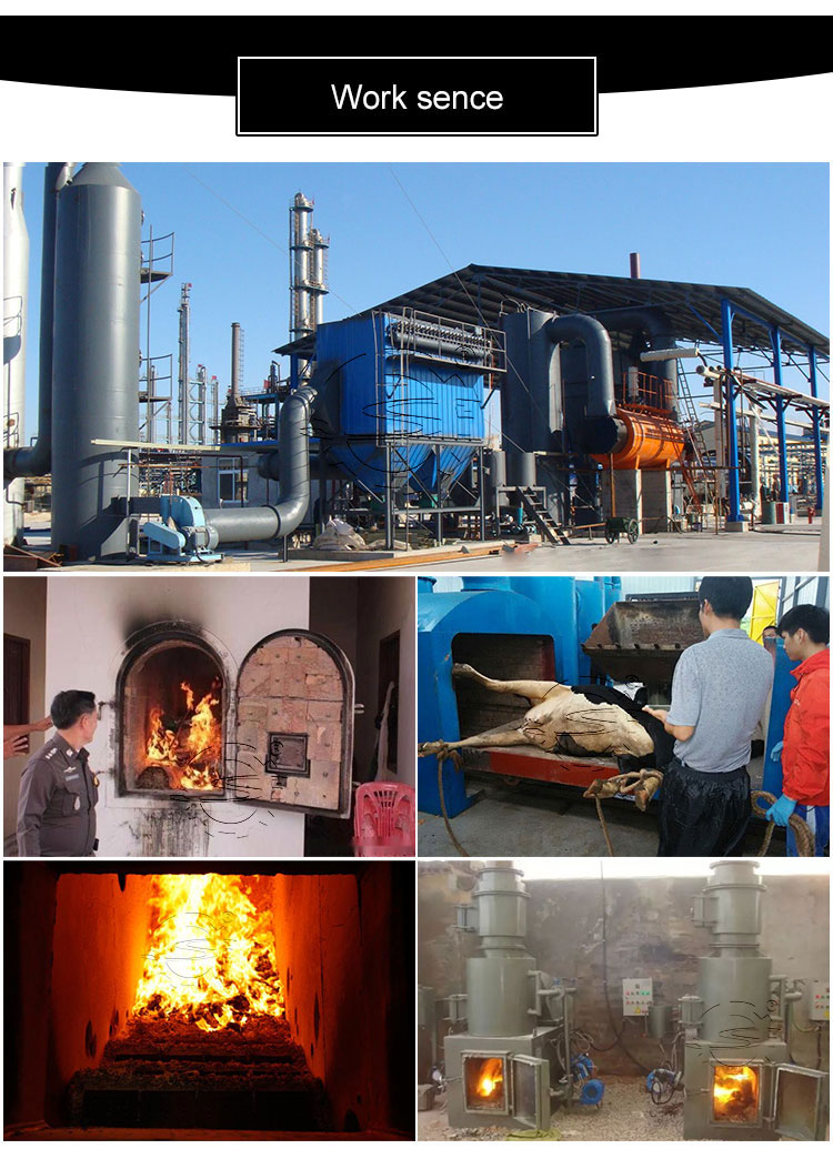 Çöp yakma/temizlik peçeteleri yakma/tıbbi atık yakıcısı üreticileri