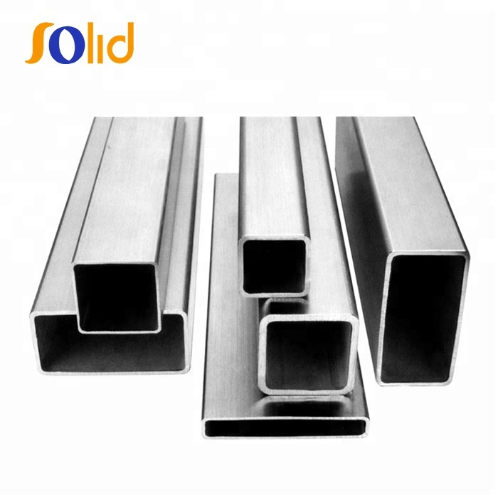 201 202 304 316 430 Stainless Steel Square Profile Tube