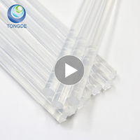China Manufacturer Customized 11mm crystal clear Eva Hot melt glue stick