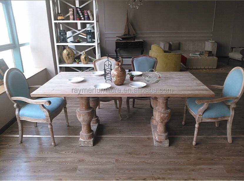 Franse landelijke stijl antieke massief houten eetkamer meubelen stelt eetkamer sets product id - Meubels set woonkamer eetkamer ...