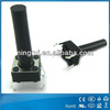 2014 high quality waterproof electronic 2pin 4 pin micro push led tact switch